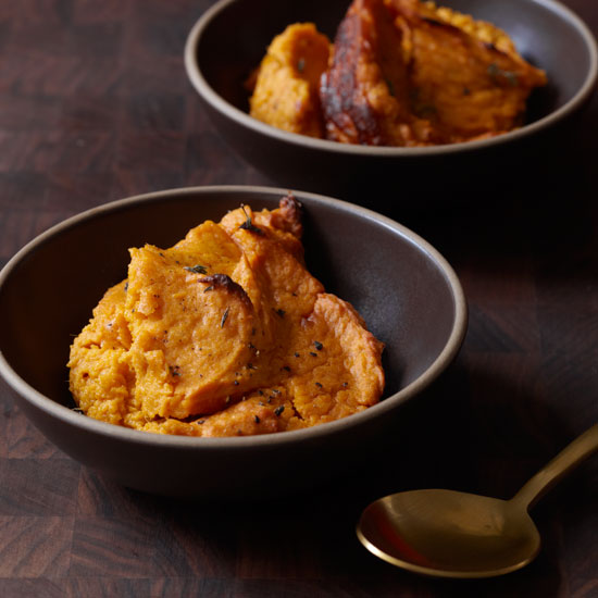 Sweet Potato Souffleé