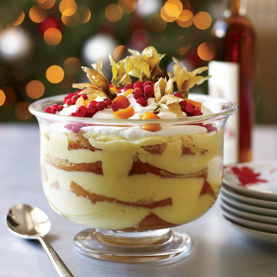 Best Holiday Dessert Recipes: Italian Trifle with Marsala