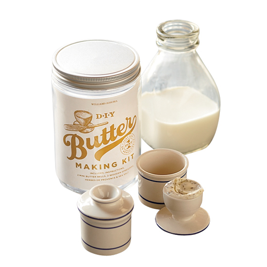 Williams-Sonoma D.I.Y Butter Making Kit