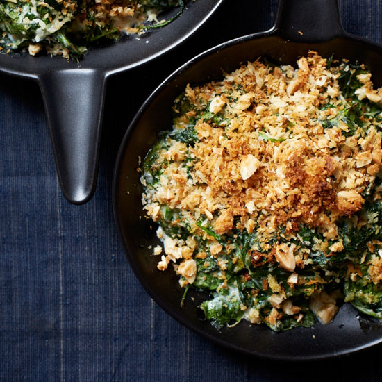 Almond-Milk Creamed Spinach