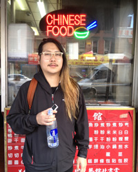 Danny Bowien in Manhattan's Chinatown; Photo: Jasmin Sun