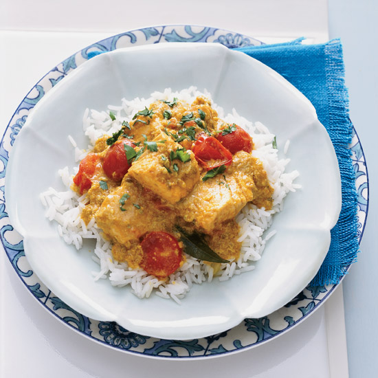 Indian Coconut Fish Curry