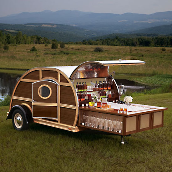 Bulleit Frontier Whiskey Trailer: $150,000