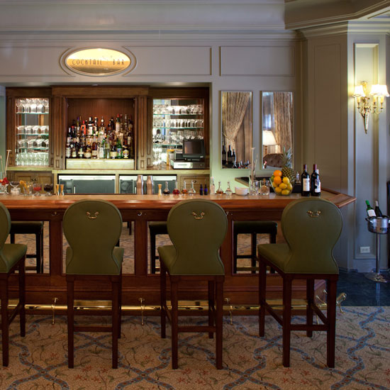 The Cocktail Bar at the Windsor Court Hotel, New Orleans