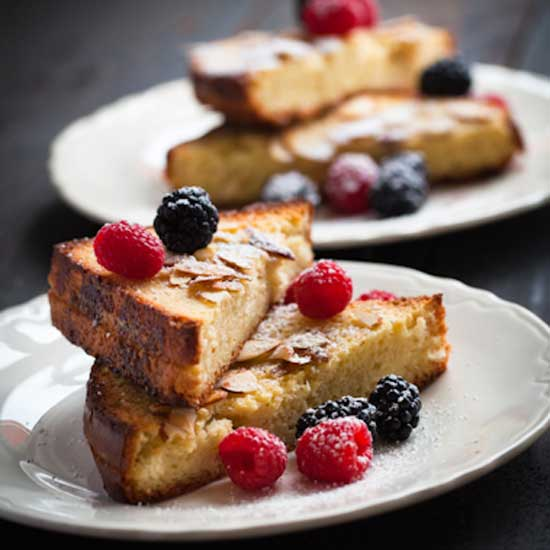 Almond Toasted Brioche