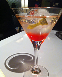 Red Carpet Cocktail Courtesy of Justine Sterling