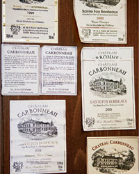 Bordeaux Wine Labels