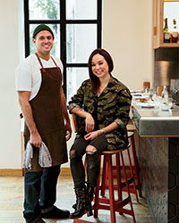 Yardbird Hong Kong's Matt Abergel and Lindsay Jang