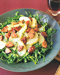 Warm Sausage-and-Potato Salad