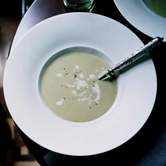 Creamy Spring Onion Soup