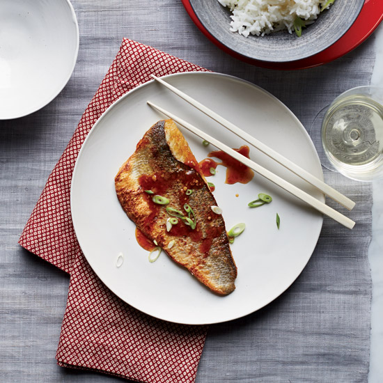 Crispy Fish with Sweet-and-Sour Sauce