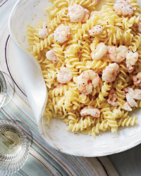 Fusilli with Shrimp and Lemon Butter