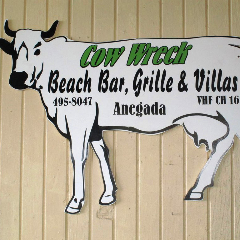 Cow Wreck Beach Bar and Grill, Virgin Gorda