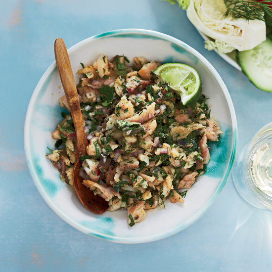 Thai Catfish Salad (Laap Pla Duk)
