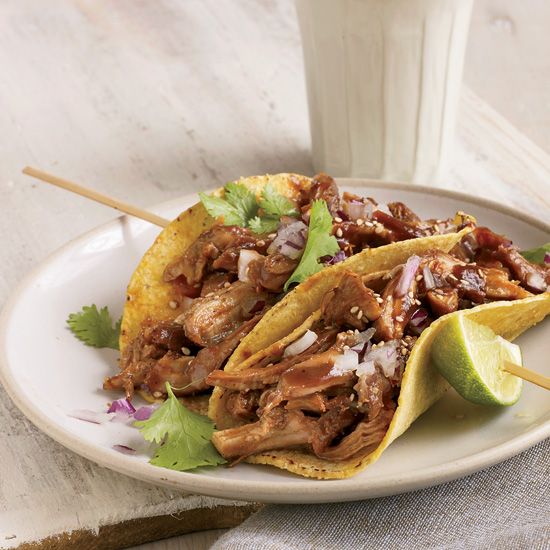 Healthy mexican food wine beer braised turkey tacos forumfinder Choice Image