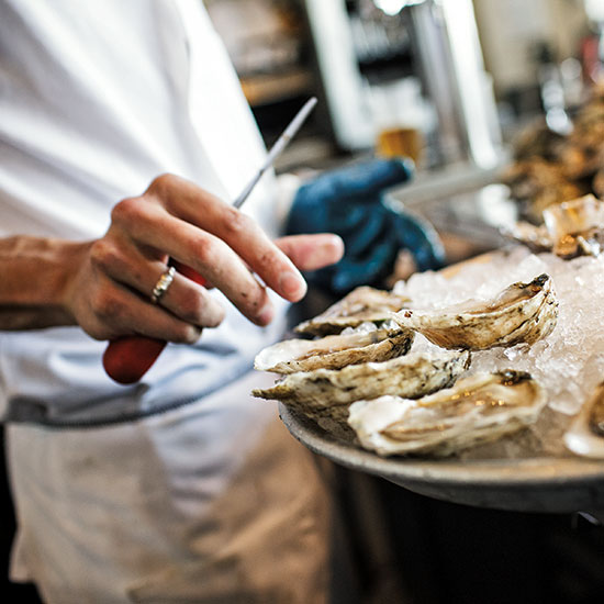 Hog Island Oyster Bar; San Francisco