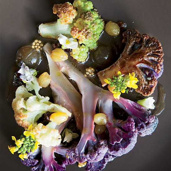 Cauliflowers Cooked Different Ways at Oxheart
