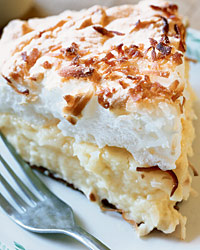 Pies and Tarts: Coconut Custard Pie