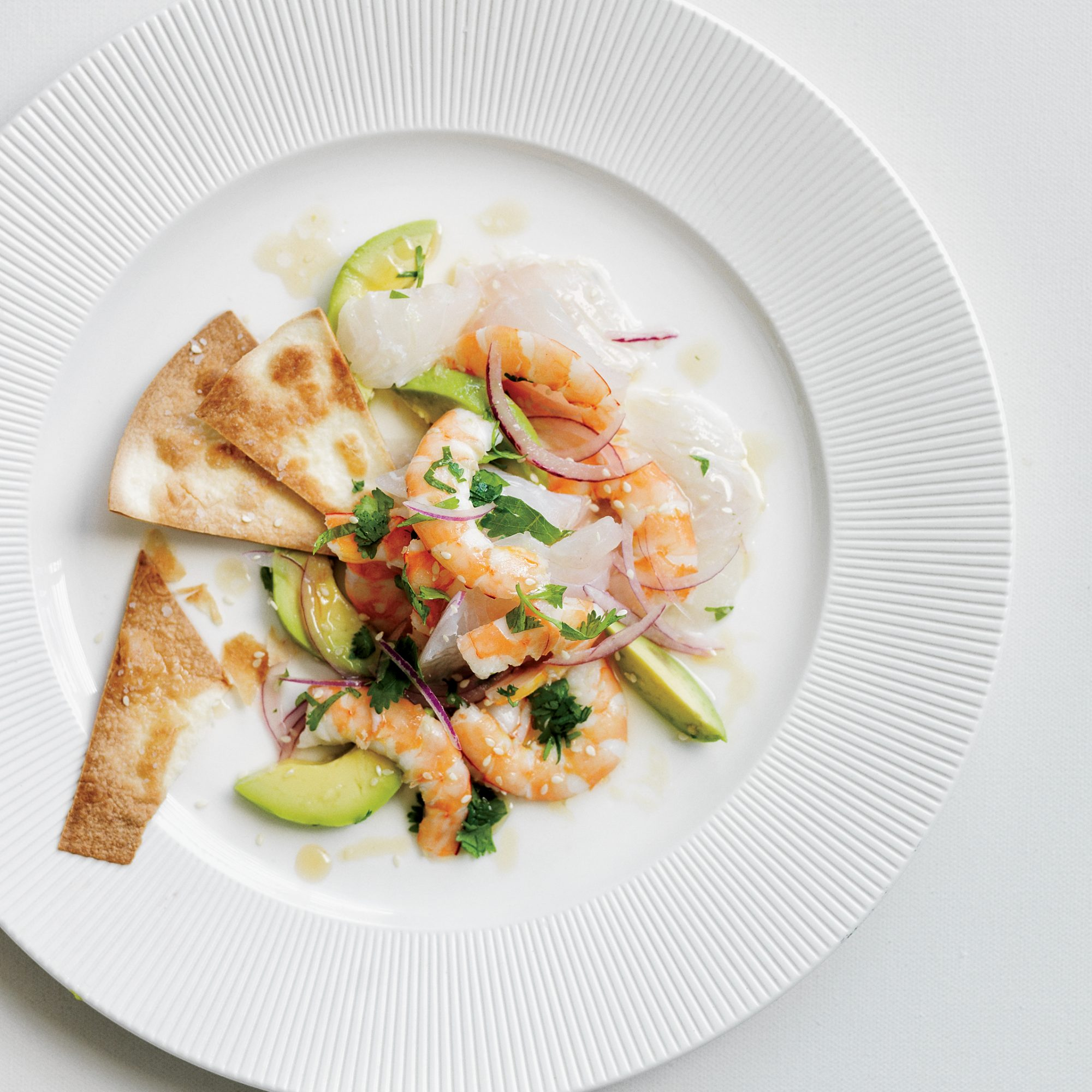 Red snapper shrimp ceviche recipe michael cord a for Shrimp and fish ceviche