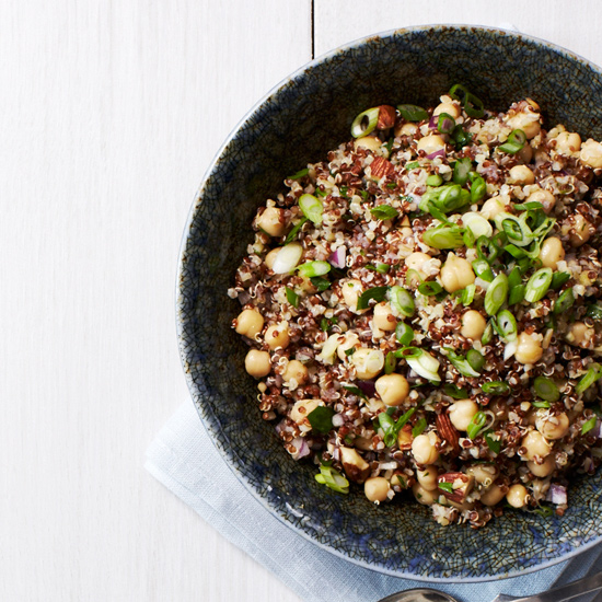 Grain Salad with Scallion Dressing