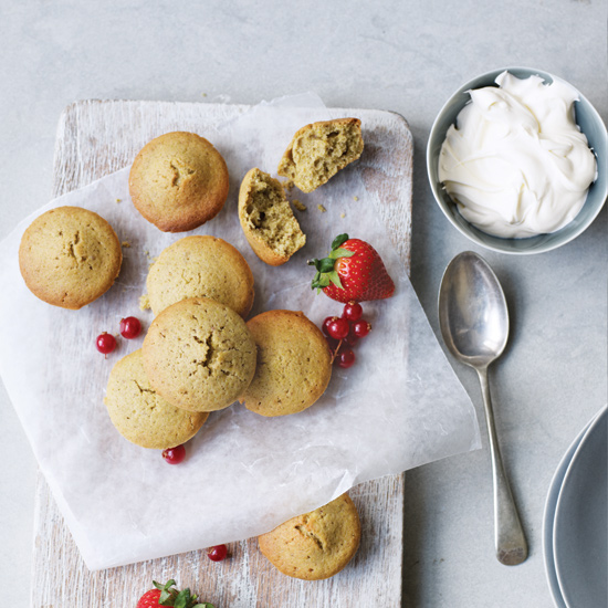 Brown Butter Pistachio Financiers