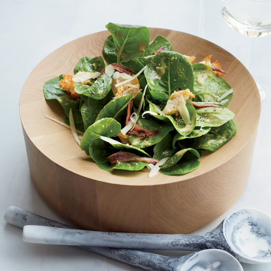 April Bloomfield's Creamy Caesar Salad with Torn Croutons