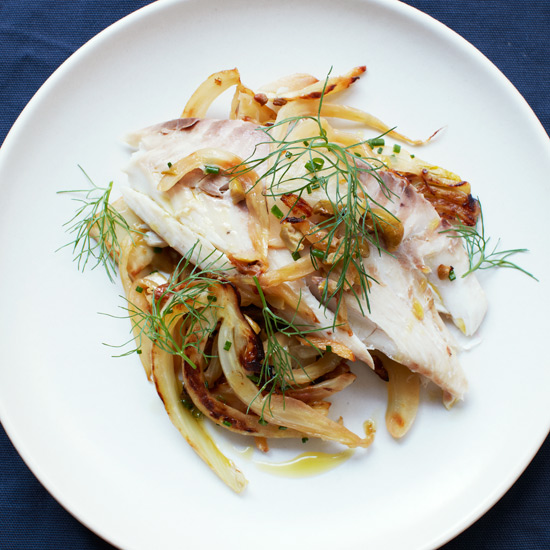 Salt-Baked Whole Fish with Fennel and Olives