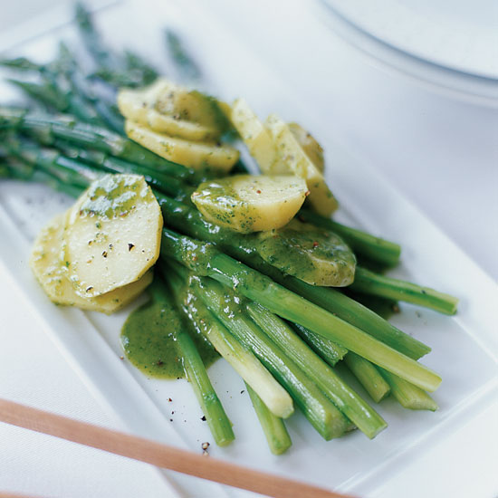 Asparagus-Potato Salad with Riesling-Tarragon Vinaigrette