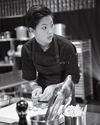 Kristen Kish on Top Chef 10
