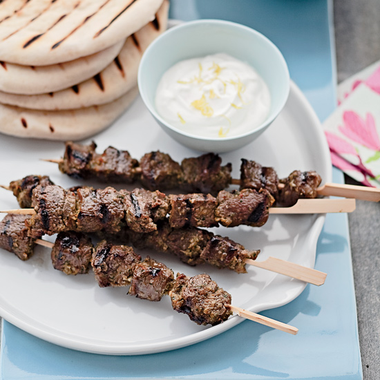 Give it 1/5 Give it 2/5 Give it 3/5 Give it 4/5 Give it 5/5 Lamb Skewers with Salsa Verde