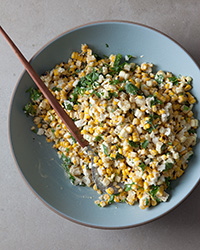 Mexican Grilled-Corn Salad with Citrus Aioli