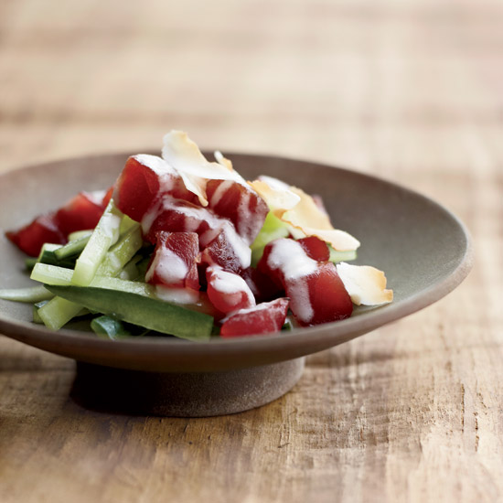 Samoan-Style Tuna-and-Cucumber Salad
