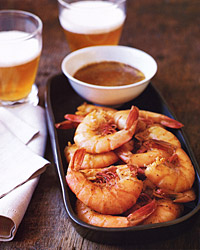 Shrimp Boil with Spicy Butter Sauce