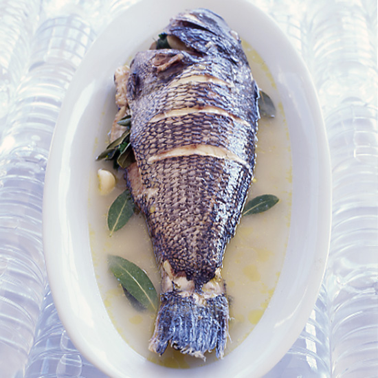 Sea Bass all'Acqua Pazza