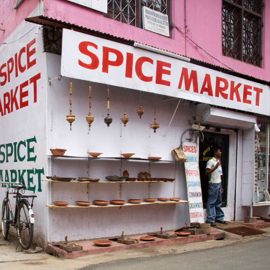 The Spice Market; Kochi, Kerala, India