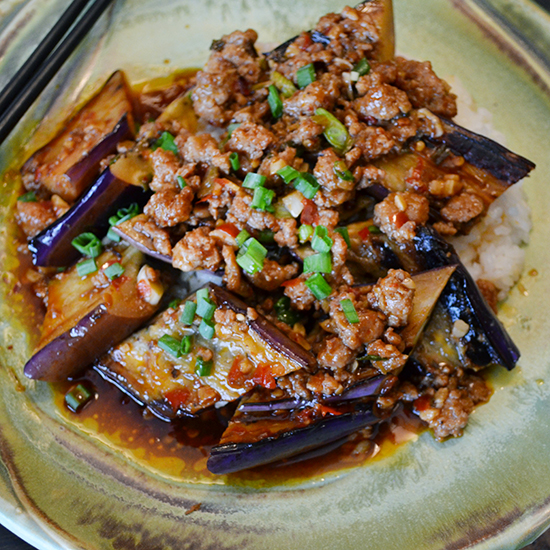 10 favorite chinese recipes food wine ma po eggplant in garlic sauce forumfinder Images