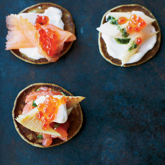 Gravlax-Style Salmon Tartare with Dill Oil