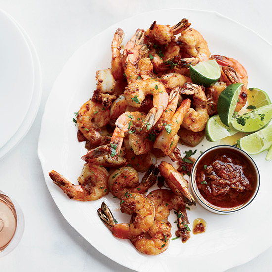Mexico City Shrimp with Chipotle Mojo
