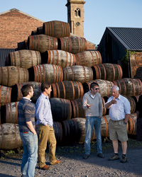 Scotland Travel: Visiting a distillery