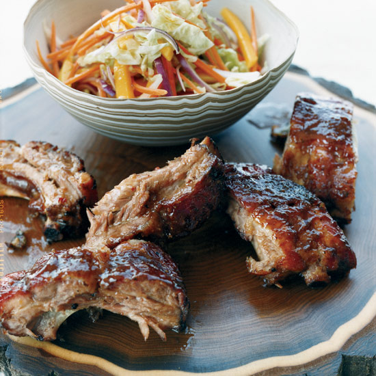 Honey-Tamarind Baby Back Ribs