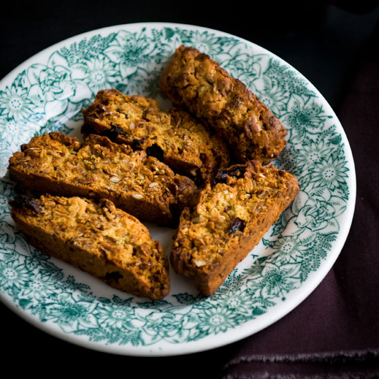 Brown Sugar Granola Biscotti