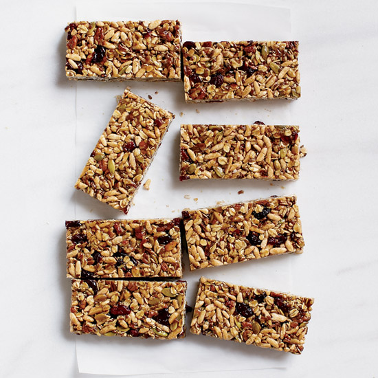 Cranberry–Pumpkin Seed Energy Bars