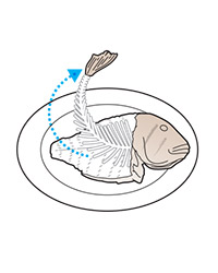 How to Serve Whole Fish: Remove Bone Cage