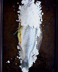 How to Cook Whole Fish in Salt: Bury Fish