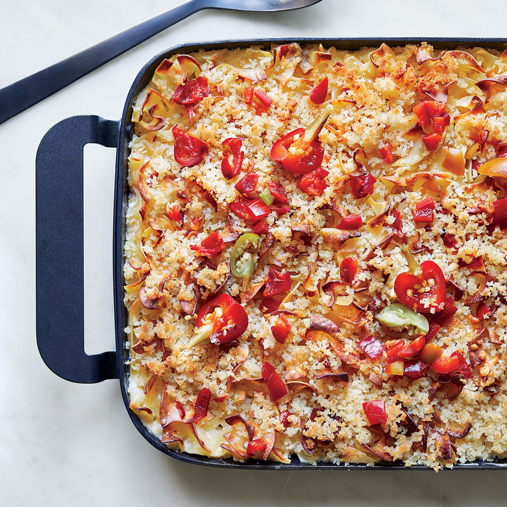 Pickled Pepper Macaroni and Cheese
