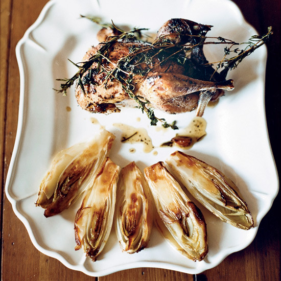 Caramelized Endives with Apples