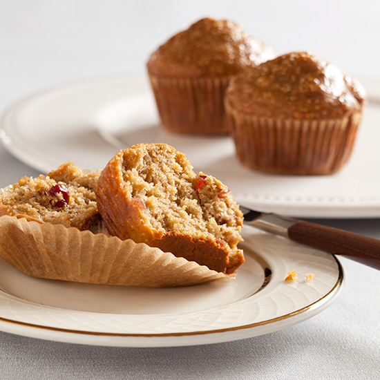 Muesli Crunch Whole-Grain Muffins
