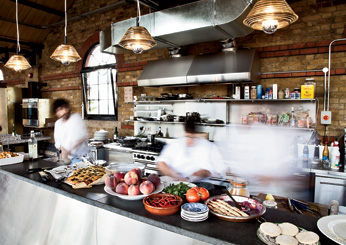 Tom Dixon Shop & Dock Kitchen (London, England)