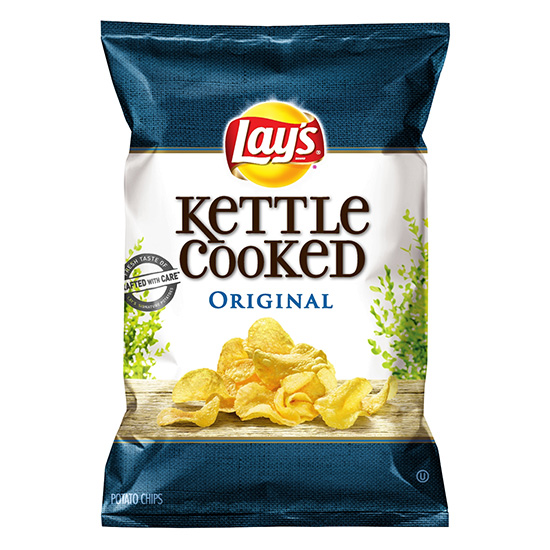 Lays Kettle Cooked Potato Chips