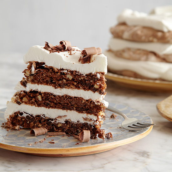 Mexican Chocolate Ice Cream Cake With Orange Meringue ...